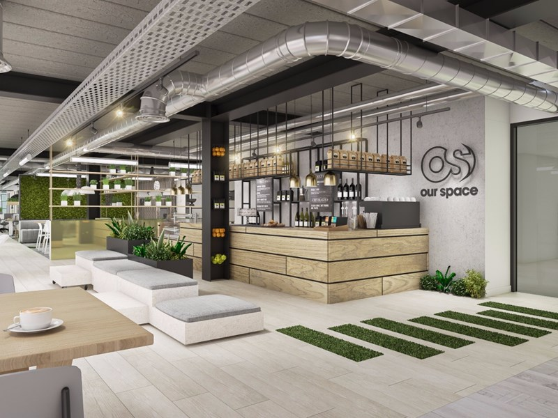 A new way to collaborate: On-site bars in serviced offices